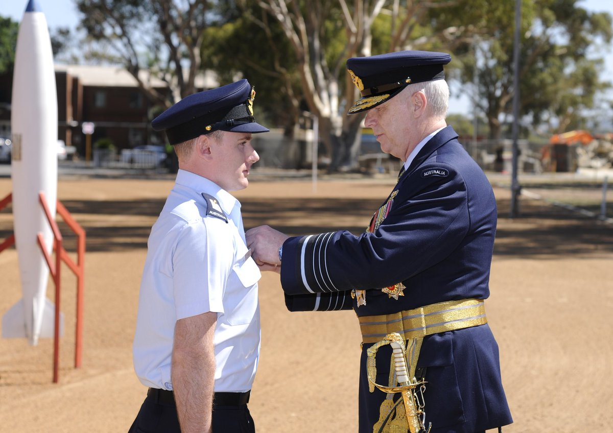 Receiving your wings is one of the greatest honours for #yourADF pilots. Congratulations No 250 Advance Pilots' Course