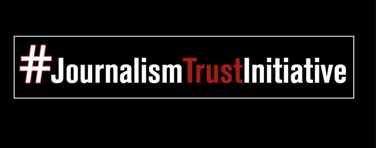 We are proud to be in Paris with our partners @RSF_en @afp & @GENinnovate to launch the #journalismtrustinitiative - designed to combat disinformation online.