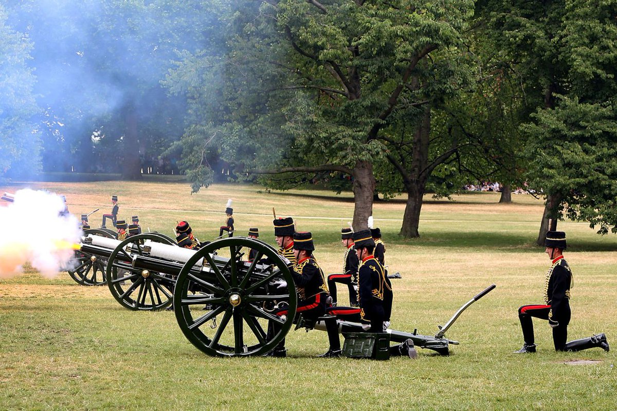 Image result for the royal christening The royal gun salutes