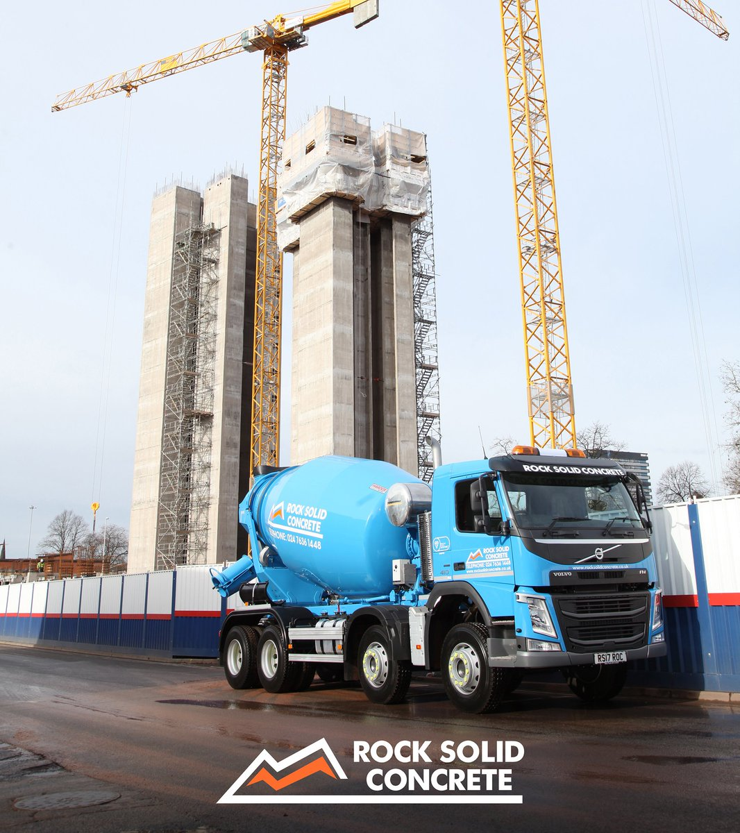 Rock Solid Concrete >> Rock Solid Concrete On Twitter From Our Base In Coventry We Can
