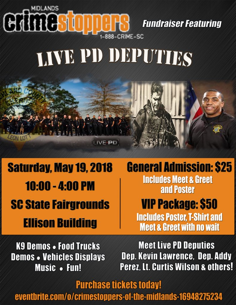 Richland County Sheriffs Dept On Twitter Get Your Tickets Now
