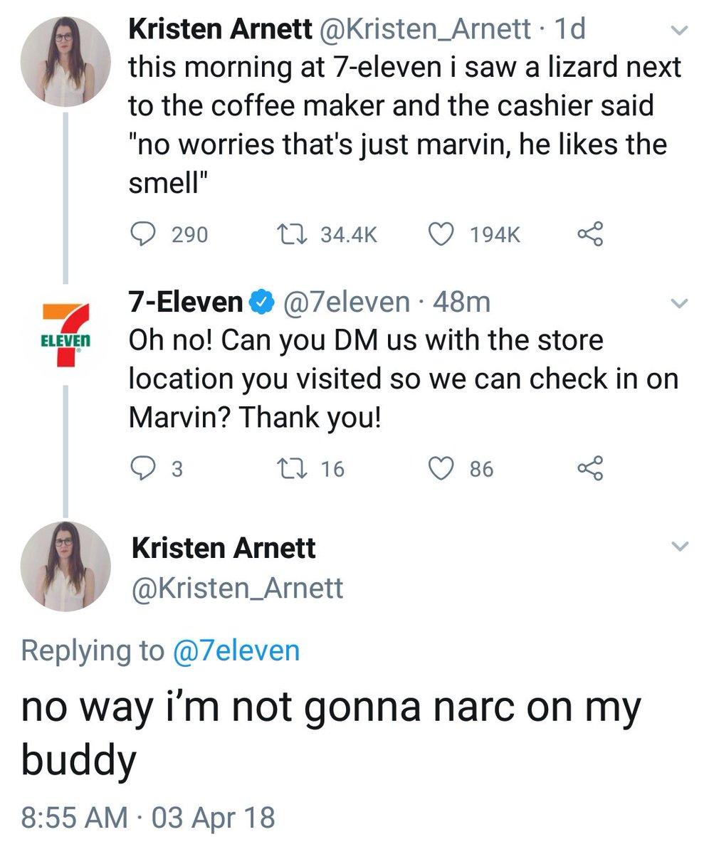 More people should be like Kristen