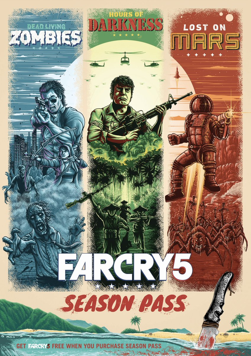 Posterspy Com On Twitter Far Cry 5 Official Season Pass Artwork Uploaded By Sammaylearts Farcry5 Https T Co Fom61ew8ee Farcrygame Ubisoftuk Https T Co 9vaqqahgn1