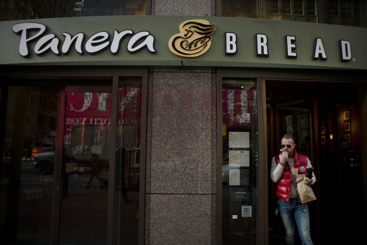 Panera Bread left millions of customer records exposed on the web https://t.co/KwNb91t7QV via @engadget