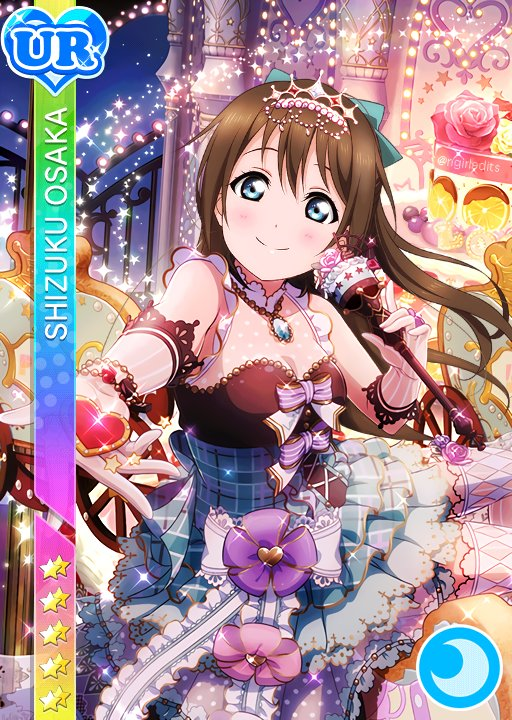 N Girl Card Edits On Twitter Valentines V2 You Shizuku Osaka