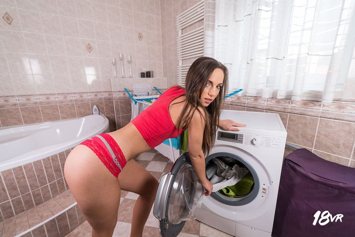 Share washing machine pussy xxx