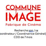 Image for the Tweet beginning: Commune Image cherche un/une Coordinateur/Coordinatrice