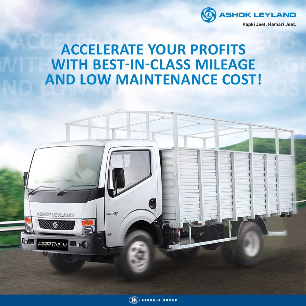 Ashok leyland on twitter the next generation light commercial ashok leyland on twitter the next generation light commercial vehicle ashok leylands partner offers superior fuel efficiency and a higher load mozeypictures Image collections