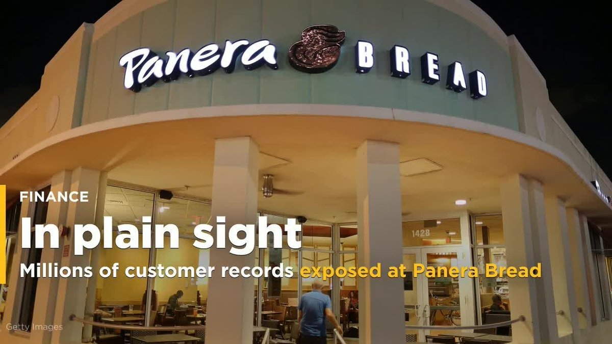 Panera Bread left millions of customer records exposed on the web https://t.co/bCsk2qx7Kl