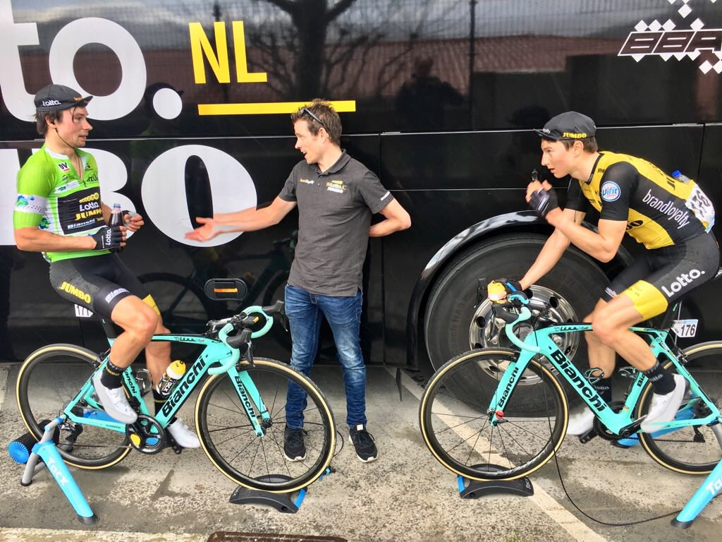 Team Jumbo Visma Cycling On Twitter Itzulia And Directly After The Race The Cooling Down Commences