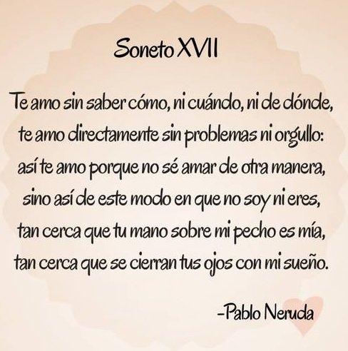 Felicidad En La Vida On Twitter El Amor Según Pablo Neruda