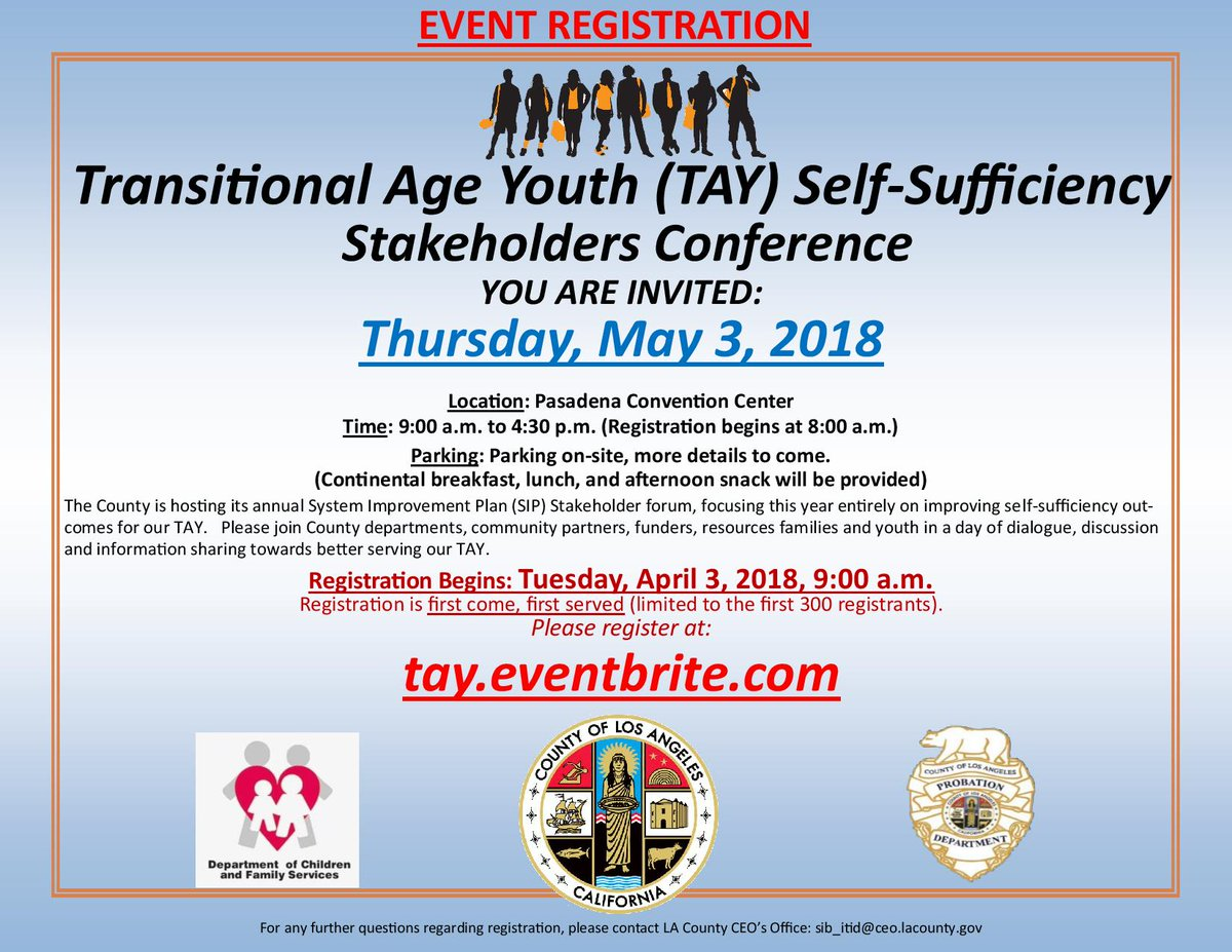 Only two weeks away! #LACounty #Youth