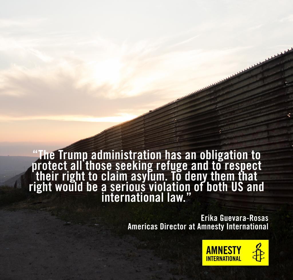 .@realDonaldTrump y su muro... otra vez  �� Lee nuestro comunicado aquí: https://t.co/OzIC0bfB8D https://t.co/tCDxdgKHbo