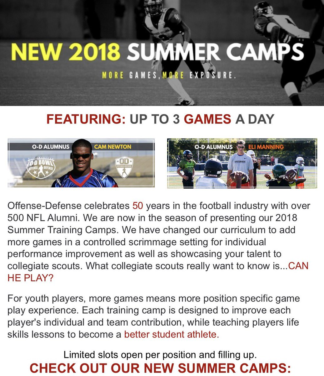 """Fense Defense On Twitter """"Check Out Our NEW 2018 Summer Training"""