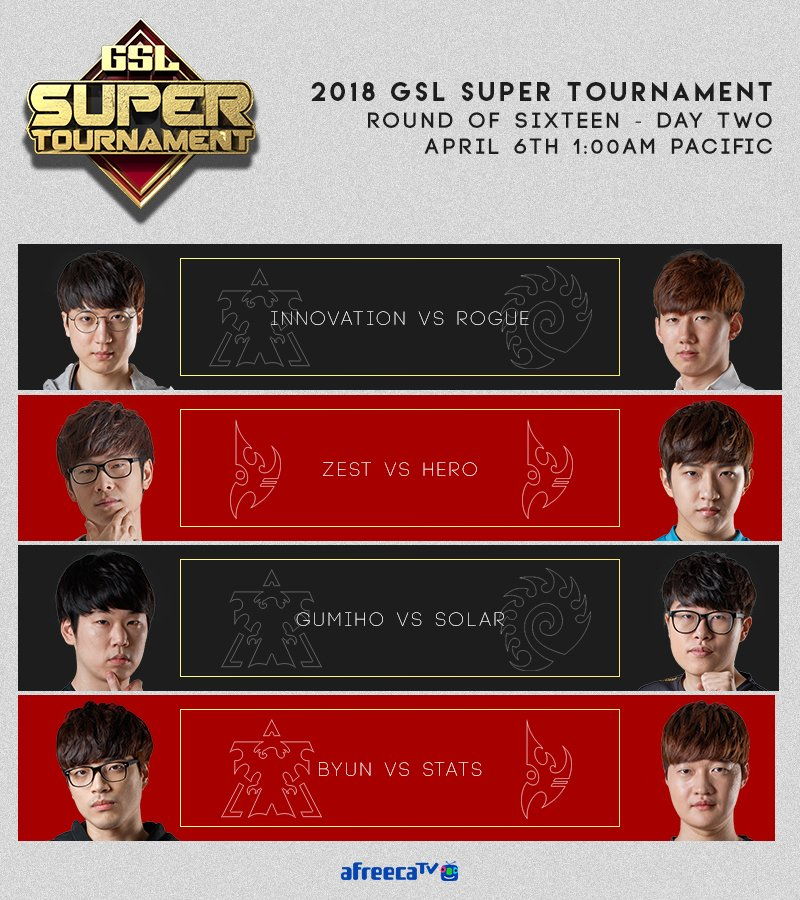 2018 GSL Super Tournament 2. nap
