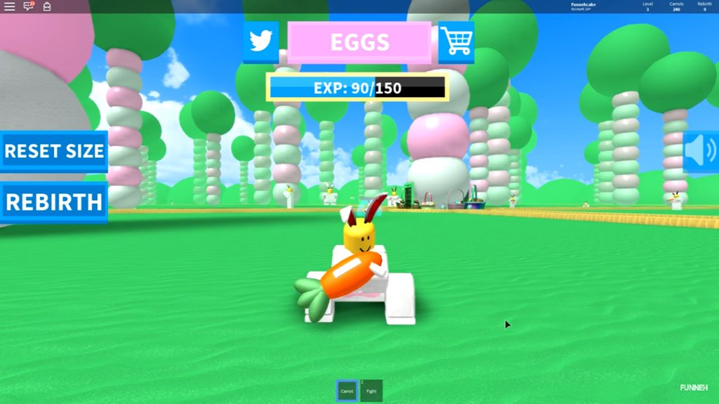 Itsfunneh On Twitter Roblox Rabbit Simulator 2 Https T