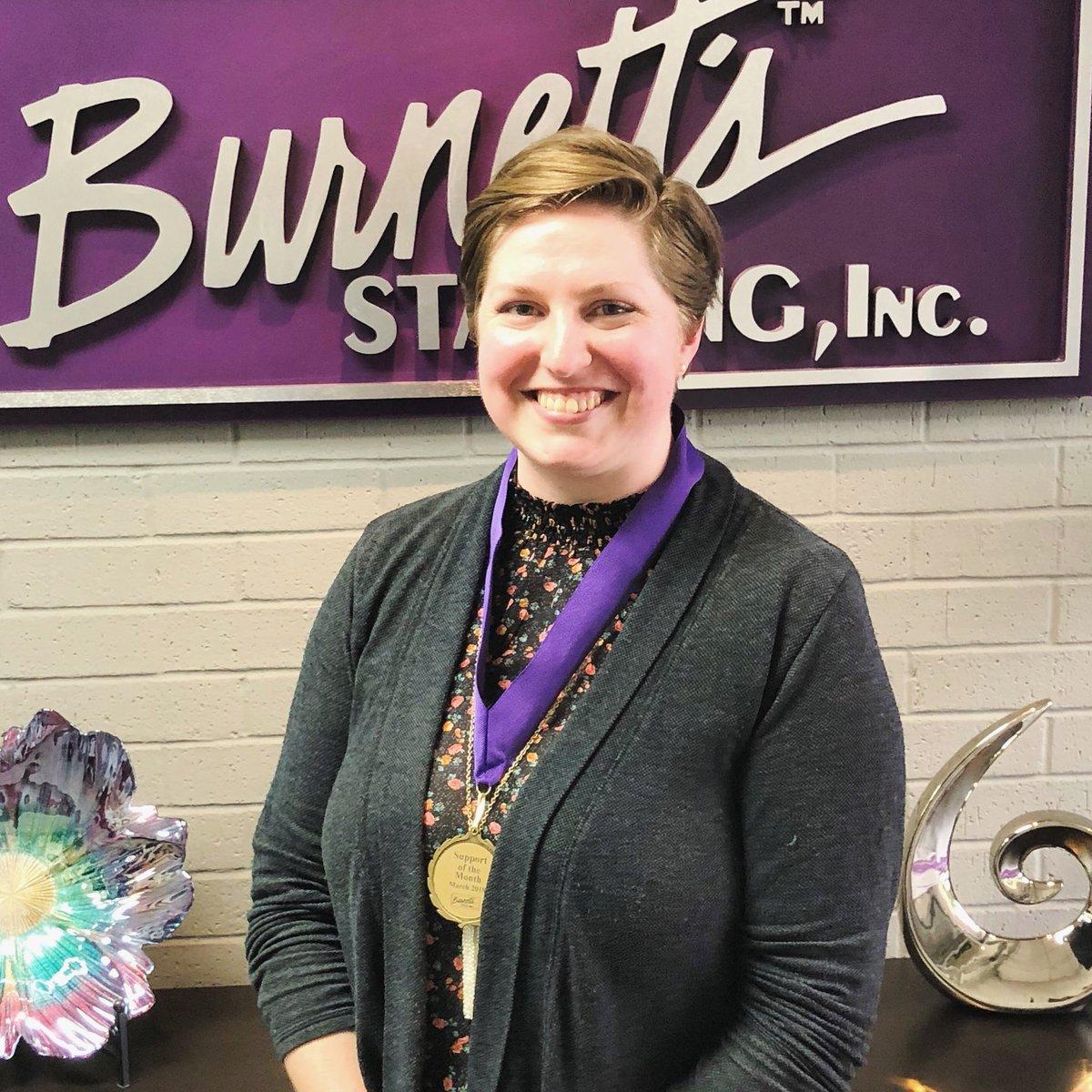 Burnett's Staffing Picture