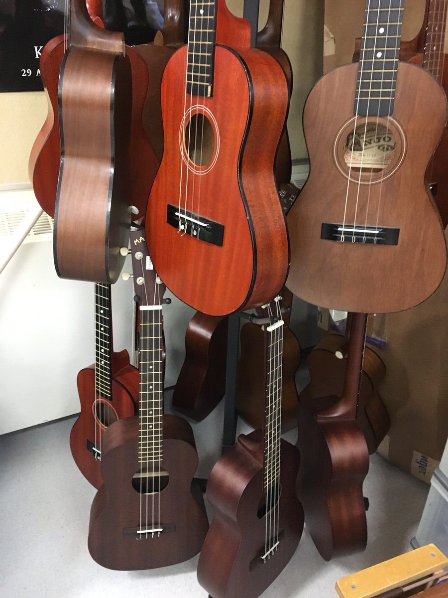 Grade 4s and 5s are starting a new unit this week! #baritoneukulele <br>http://pic.twitter.com/429J49gtau