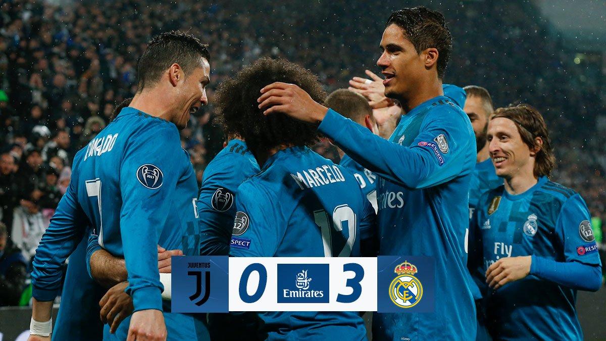 Juventus F.C. - Real Madrid C.F. 0:3