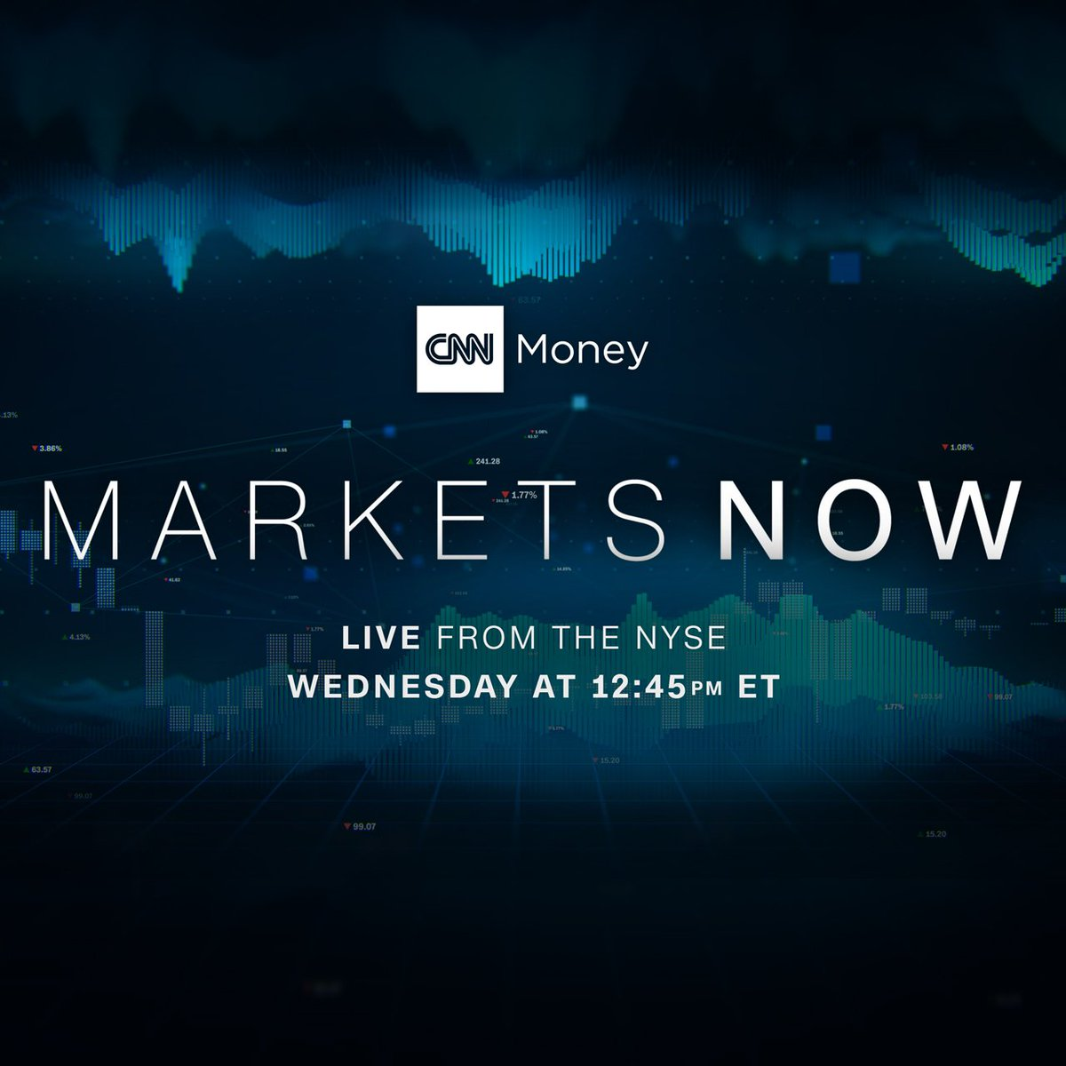 Cnnmoney Has A New Show Tune In For Markets Now Live From