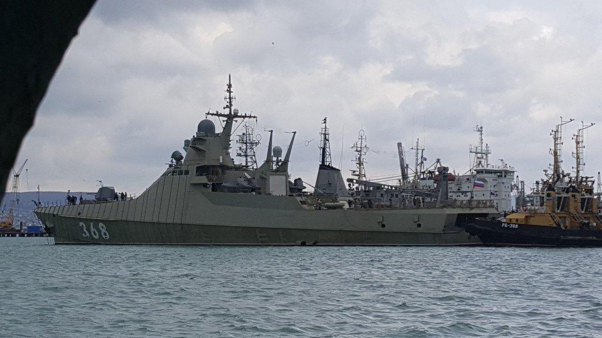 Project 22160 Bykov-class patrol ship - Page 11 DZ4wDXfXcAA7WzM