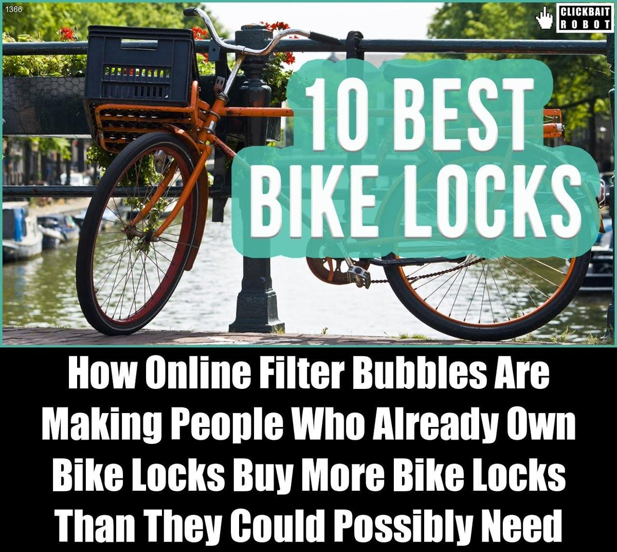 How Online Filter Bubbles Are Making >> Clickbait Robot On Twitter How Online Filter Bubbles Are Making