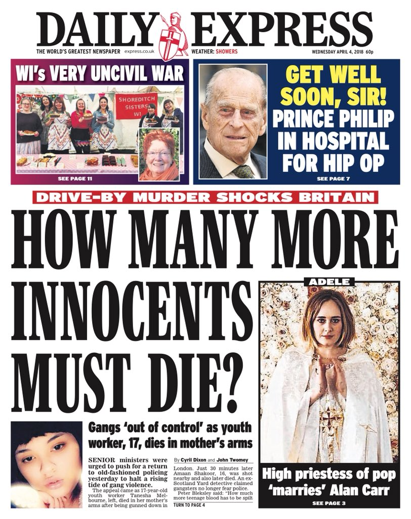 Knife crime: news headlines are predictable - but they don ...