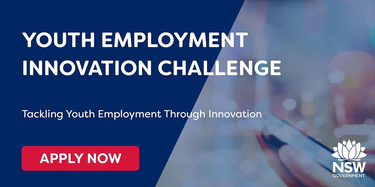 Business nsw on twitter are you an innovative startup or business we want to support you as part of the youth employment innovation challenge apply now to make a difference httpsgoo44dlrm smartskilledandhired thecheapjerseys Gallery