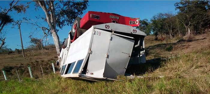 Accidente en Las Tunas con 32 heridos