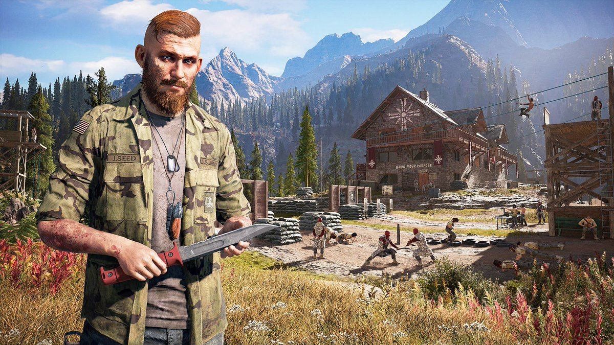 #FarCry 5: Finally, a video game for cowards https://t.co/nJAtULBfWp