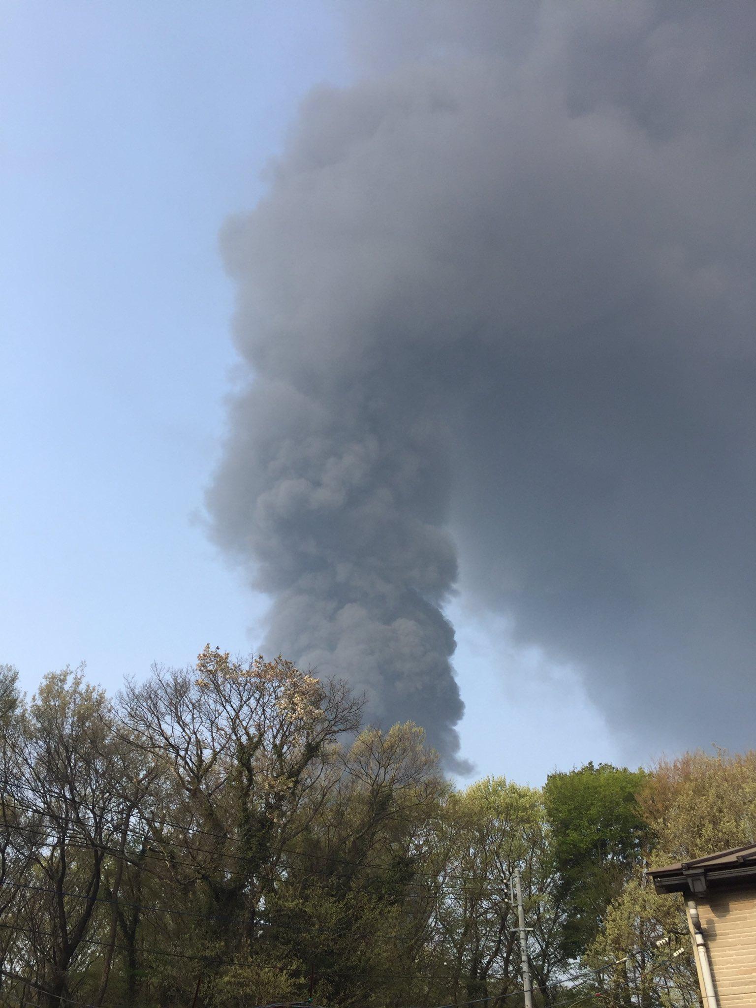 画像,茨城県坂東市小山付近で火事! #坂東市 https://t.co/ImLJW1g7lP。
