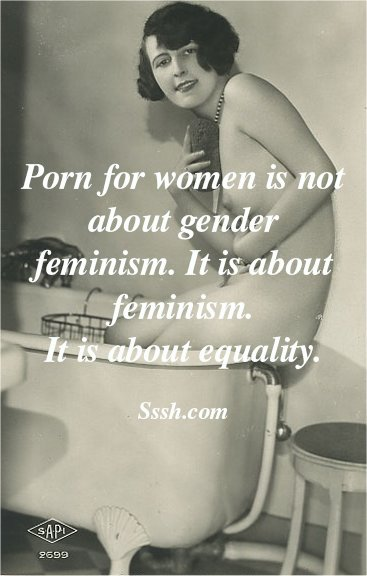 #FeministPorn: It's about equality. https://t.co/ukdj0AhnSy