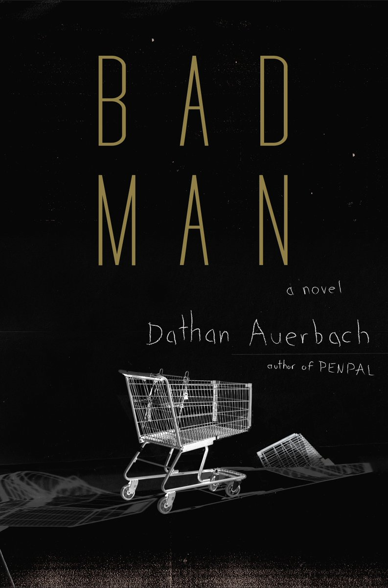Nothing that a new book cant take care of bad man out on aug 7th doubleday blumhouse books check it out at http 1000vultures com pic twitter com