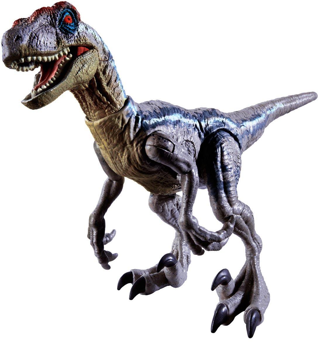 Jurassic Park 3 Velociraptor Toy Chris Pugh on T...