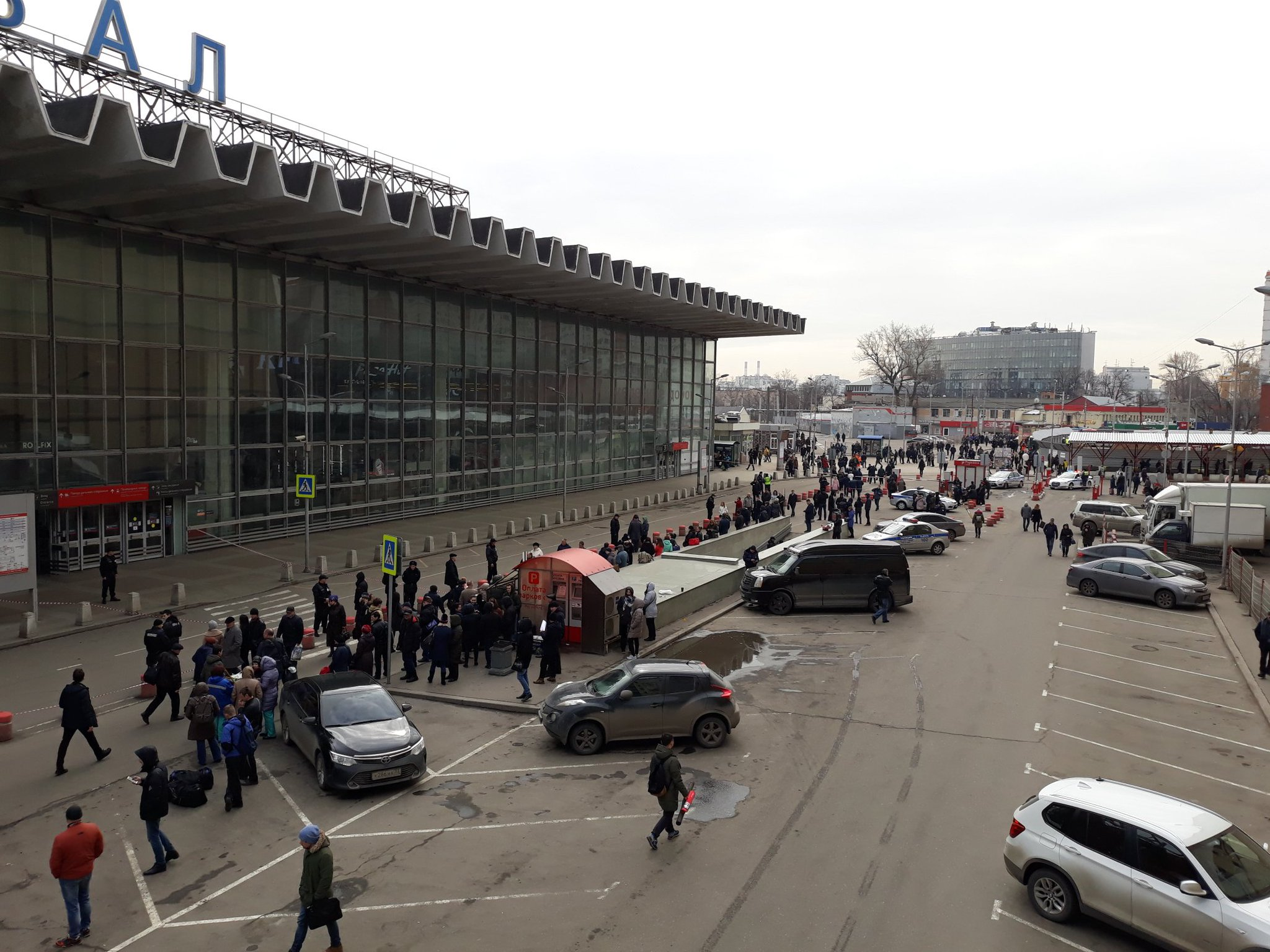 Курский вокзал в фотографиях