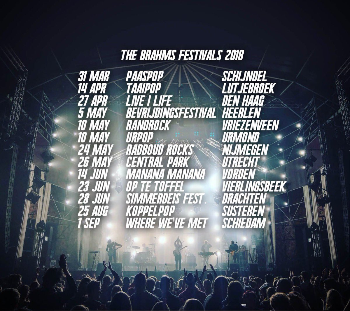 The Brahms On Twitter First Festivals Of This Summer