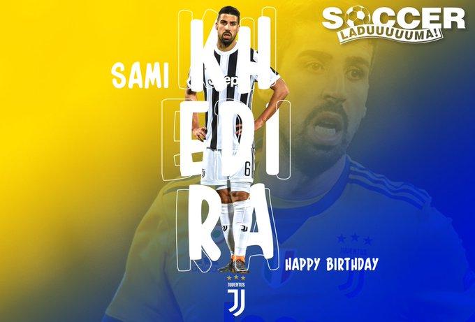 Juventus midfielder, Sami Khedira turns 31 today! Join us in wishing him a Happy Birthday!