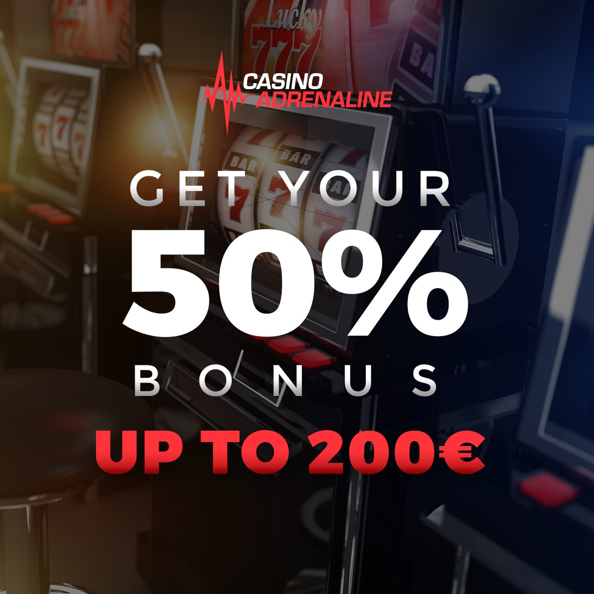 test Twitter Media - Don't miss the opportunity to play with 50% bonus up to 200 EUR this Friday. 50x bonus and deposit!! 😲😎#CasinoAdrenaline #CasinoAdrenalingaming #casinos #slot #casinoluck #enjoythegame https://t.co/ofNVTRVRfY