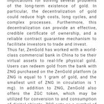 Image for the Tweet beginning: ZenGold invited to attend 2018