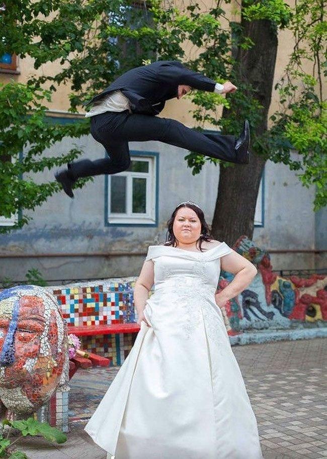 Смешные картинки со свадебными платьями