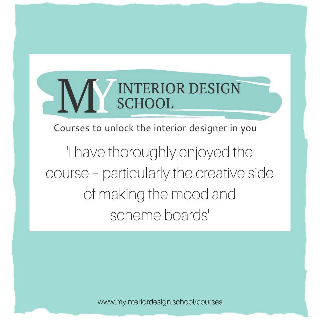 Anne Wall - My Interior Design School on Twitter: