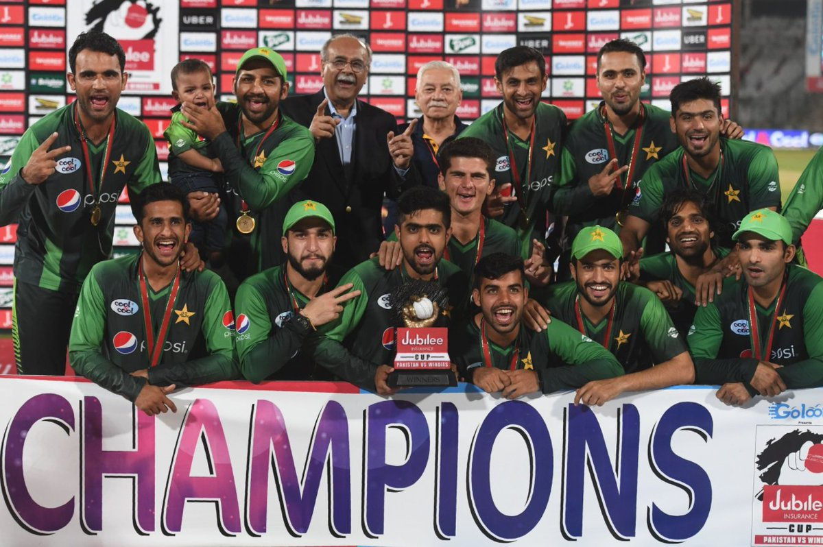 Congratulations Pakistan you are the champions 3-0