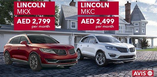Avis Car Rental Uae On Twitter Avisuae Luxury Offers On Lincoln