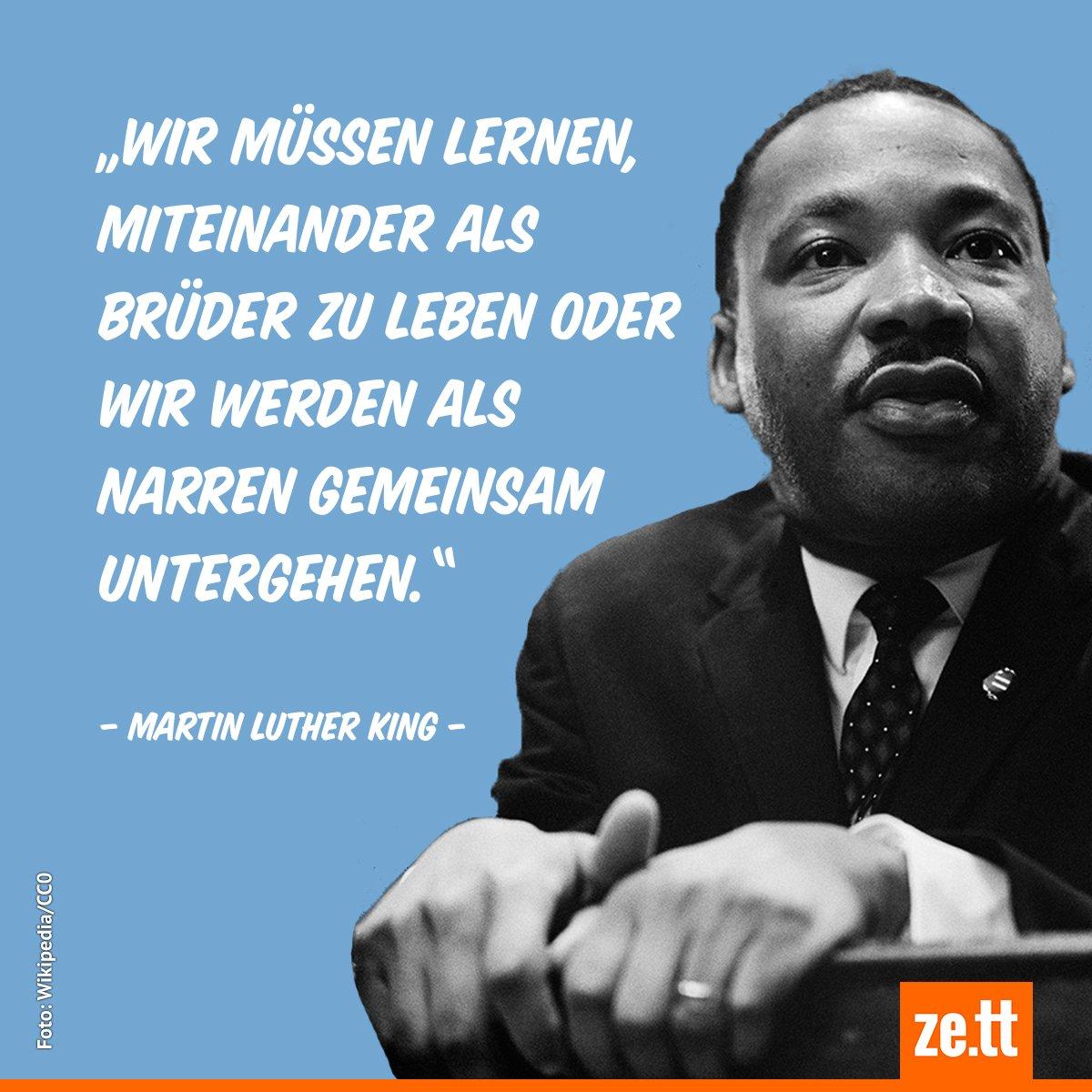 Martin Luther King Deutsch
