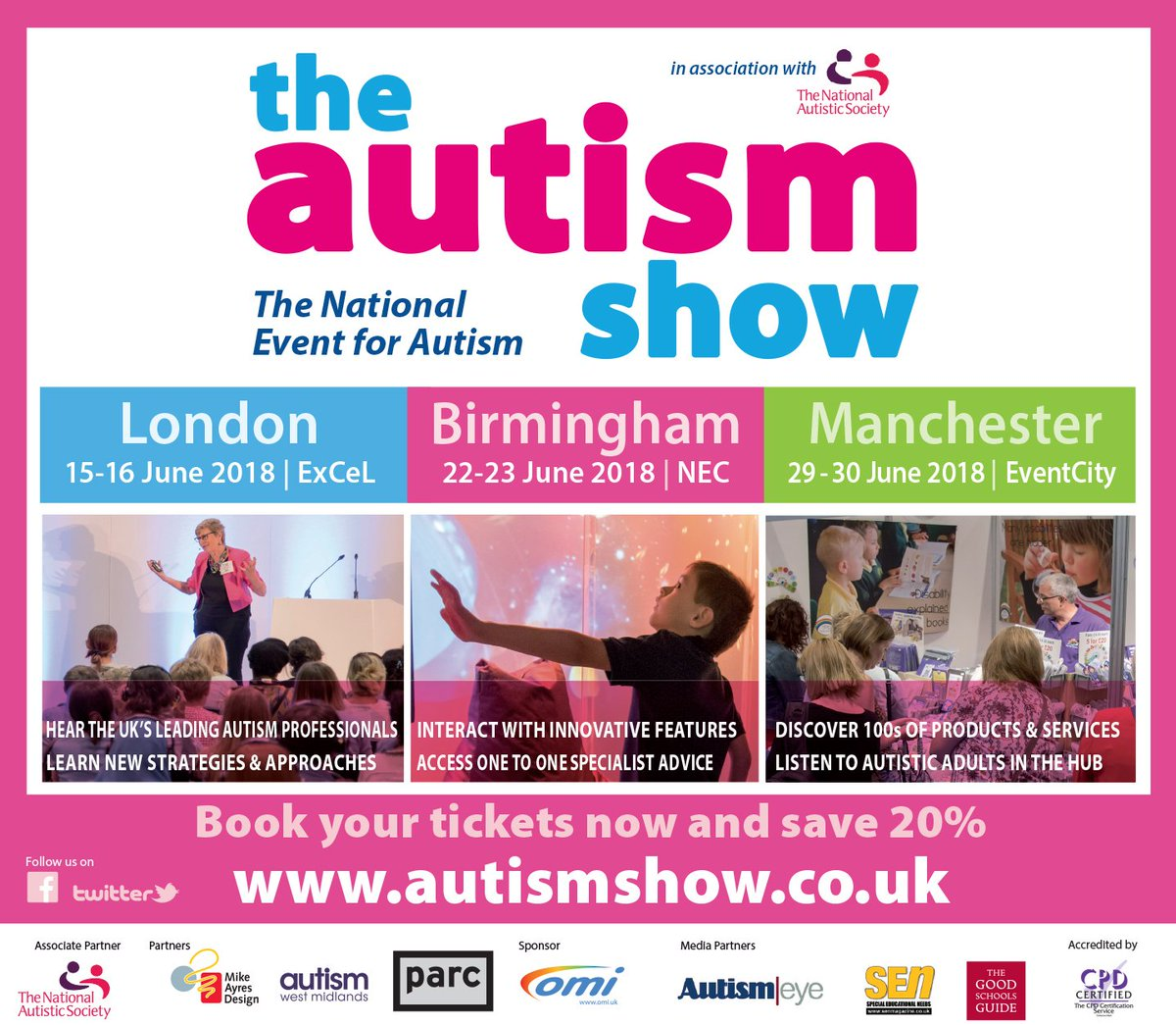 The autism show theautismshow twitter autism show events have now been published online please visit httpautismshow to find the details looking forward to seeing you all at 1betcityfo Gallery
