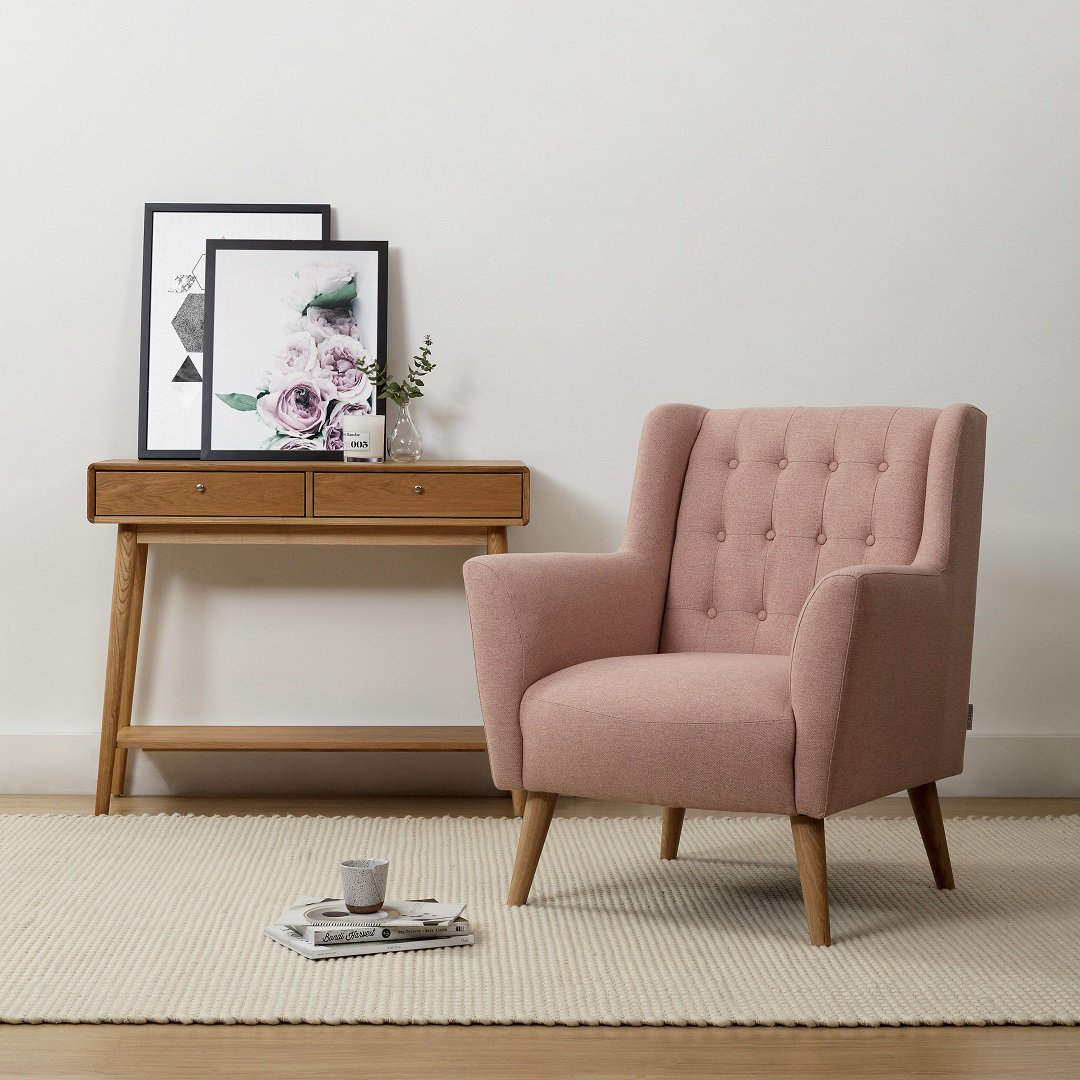 Sometimes all you need is a little colour in your life to make things feel brand new! Our Abel Armchair is one of our favourite designs and we adore it in the classic colours but this brand new Rose colouring has us in love! 😍😍 Find it here: https://t.co/mHQxofsaLc https://t.co/6KZRwSOT5L