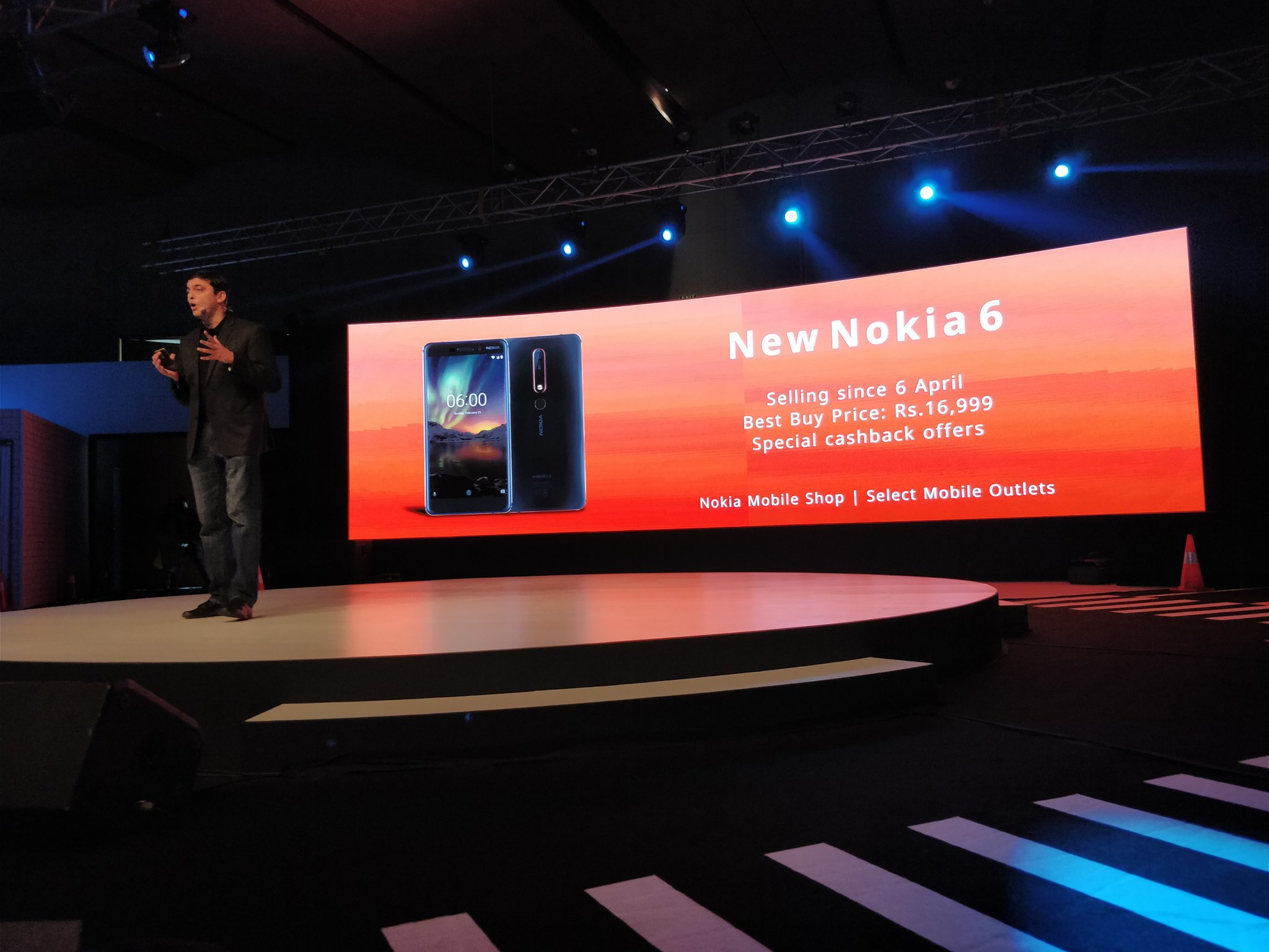 Nokia 6 (2018) Launched in India at 16999 Rupees