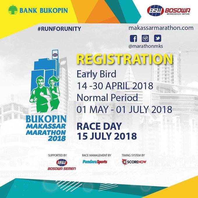 Bukopin Makassar Marathon • 2018