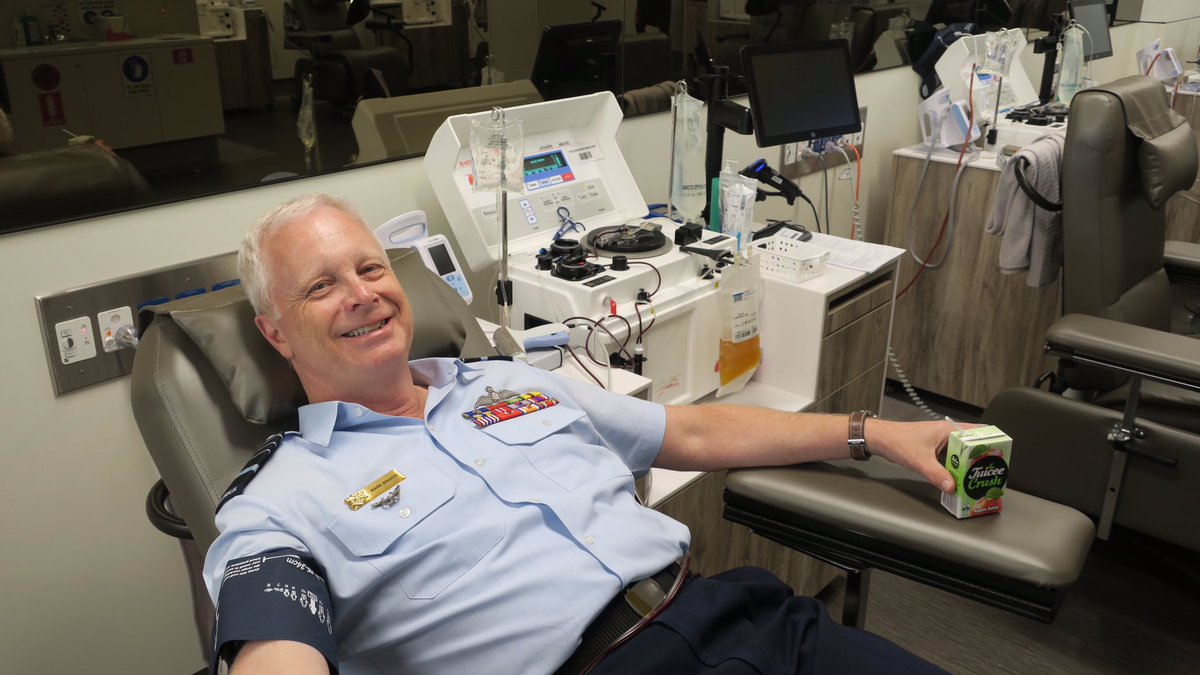 @redcrossbloodau has opened a new dedicated plasma donor centre in #Canberra. 1 donation can create 18 life-saving treatments donateblood.com.au/learn/plasma