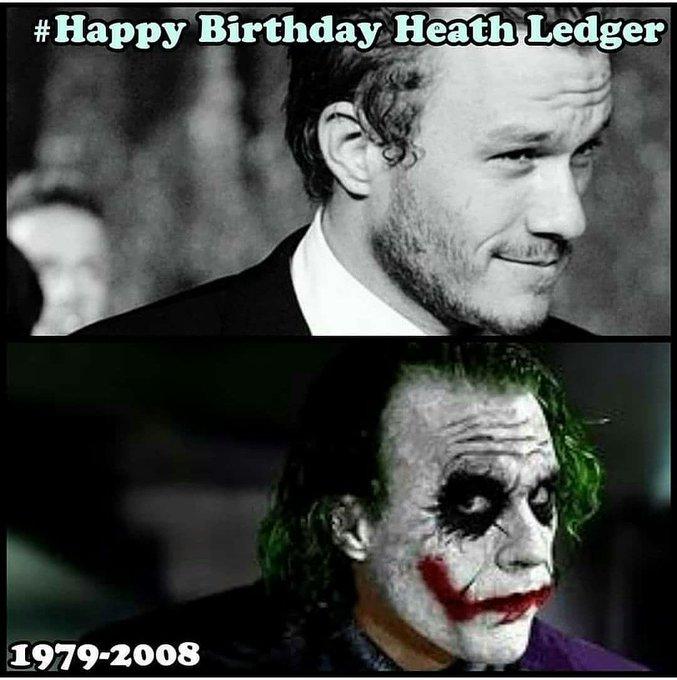 Happy birthday heath ledger A terrific performer  Remembering him on his birthday